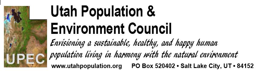 Utah Population & Environment Council