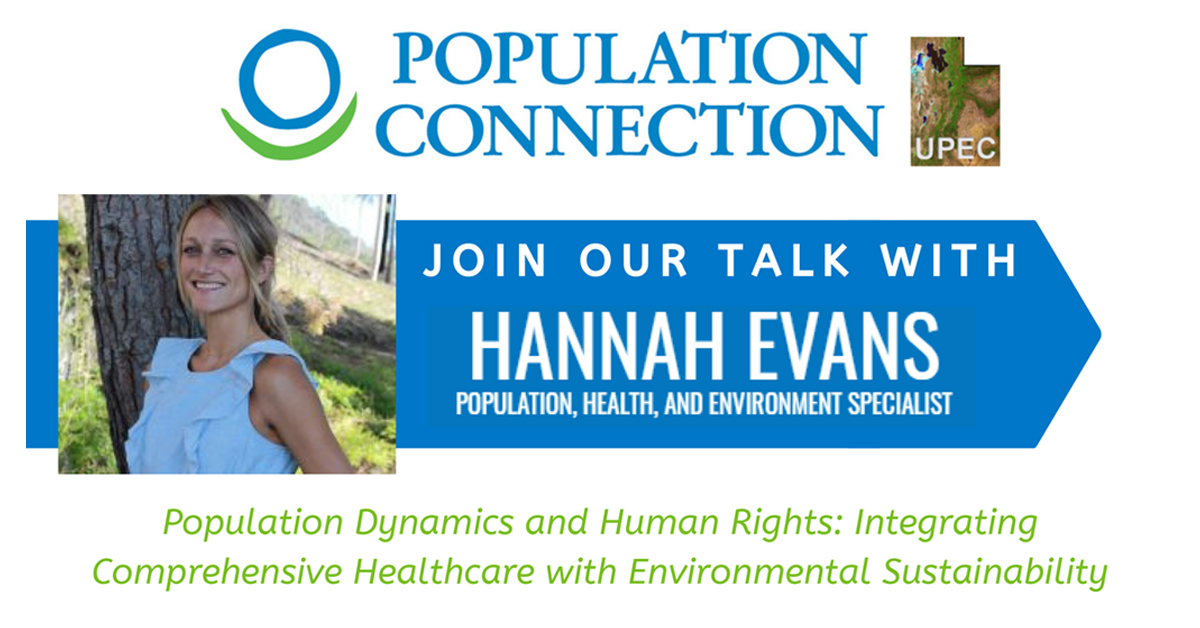 Population Connection Talk with Hannah Evans